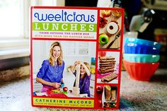 Weelicious Lunches by the lovely Catherine McCord. A lunchtime bible!