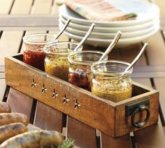 Range Rectangular Condiment Set | Pottery Barn