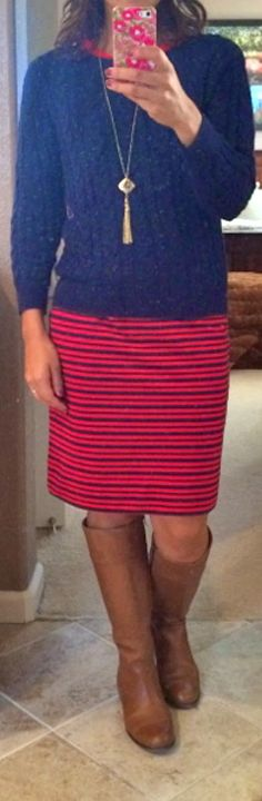 THE ROONEY FAMILY: Wardrobe Wednesday: The Striped Dress