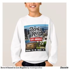 Shop for Los Angeles hoodies & sweatshirts from Zazzle. Hoodies, Sweatshirts, Cool Gifts, Graphic Sweatshirt, Hollywood, Gift Ideas, Boys, Sweaters, Shopping