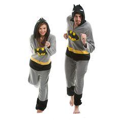 An adult batman onesie (for a guy)