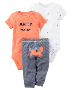Baby Boy 3-Piece Neon Little Character Set from Carters.com. Shop clothing & accessories from a trusted name in kids, toddlers, and baby clothes.