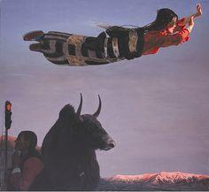 Wang Yi Guang and flying spirits of Tibet