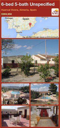 6-bed 5-bath Unspecified in Huercal Overa, Almeria, Spain ►€269,950 #PropertyForSaleInSpain