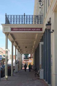 The Strand; Galveston, TX...one of my favorite places to spend a summer day!