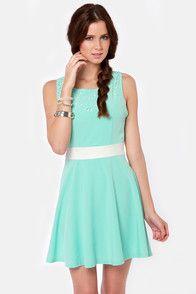 mint blue dress - Google Search