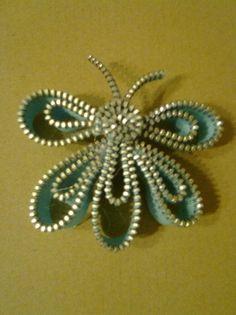 Cremallera Zipper Bracelet, Zipper Jewelry, Fabric Jewelry, Zipper Flowers, Felt Flowers, Fabric Flowers, Ribbon Flower, Ribbon Hair, Hair Bows