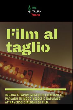 Film al Taglio is a digital listening package to help you better understand Italians who speak fast and naturally. Through movie dialogues. Movie Dialogues, Learning Italian, Film, Digital, Movies, Movie, 2016 Movies, Film Stock, Learn Italian Language