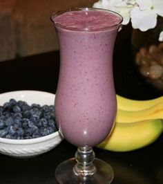 Flax Berry Smoothie