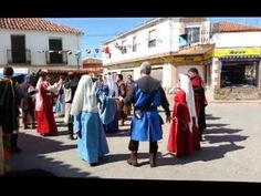 Bailes medievales IV - Montiel Medieval 2013 - YouTube