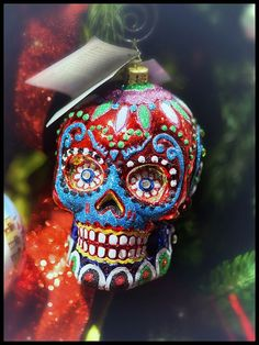 La Calavera (Sugar Skull) - Christmas Ornament | Christmas ...