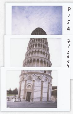 Leaning Tower of Pisa collage by  Petr Klabal