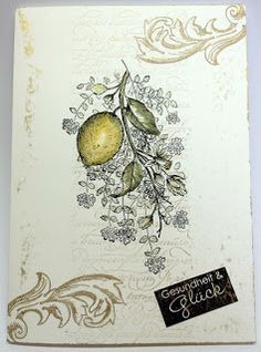 Zitrone mit Thymian