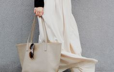 GiGi New York | What Would V Wear Fashion Blog | Teddie Tote