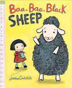 Baa, Baa, Black Sheep by J. Cabrera (PZ8.3 .C122 Bac 2016)