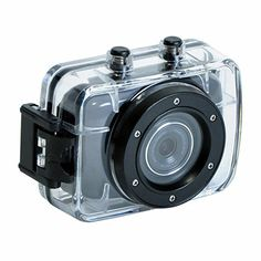 720P HD Waterproof Camera with 2.0 inch touch screen