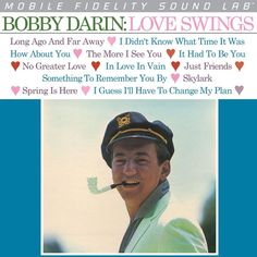 BOBBY DARIN - LOVE SWINGS (NUMBERED LIMITED EDITION Vinyl LP)