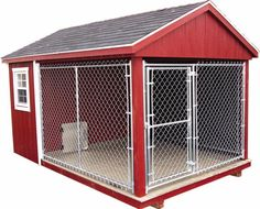 dog kennel, for those stormy days when they can't hold it any longer.