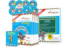 Learn Spanish with Whistlefritz Spanish Videos and Spanish CDs for Kids.