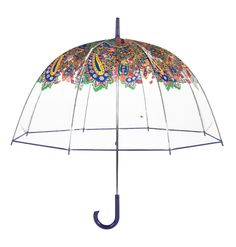 Vera Bradley Bubble Umbrella in Venetian Paisley