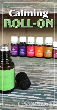 Need to de-stress? Check out this calming roll-on blend!   www.homemademommy.net