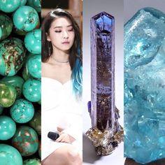 BirthStones&KPOP // Zircon, Tanzanite & Turquoise // Bora of Sistar