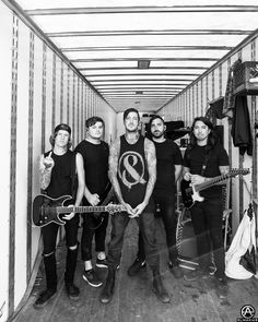 Of Mice & Men in the trailer before going to stage at Warped Tour in Burgettstown, PA. full set- http://adamelmakias.com/live/photos-from-warped-tour-2014/