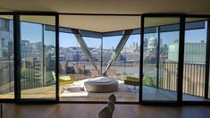 Superb views from this apartment where we fitted blinds Budget Blinds, Diy Blinds, Curtains With Blinds, Living Room Blinds, House Blinds, Discount Blinds, Blinds Inspiration, Vinyl Mini Blinds, Fitted Blinds