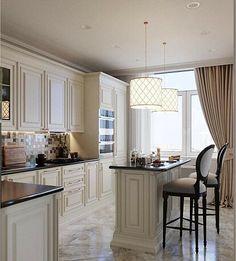 Какие фасады лучше выбрать для кухни: самые практичные и качественные варианты Kitchen Room Design, Kitchen Cabinet Design, Modern Kitchen Design, Home Decor Kitchen, Kitchen Interior, Kitchen Ideas, Fancy Kitchens, Elegant Kitchens, Luxury Kitchens