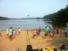 Camp Beach Volleyball