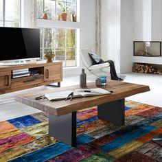 sofabord #indretning #interiør #interiørdesign #interiørbutikkendk #rustikkemøbler #boligindretning #sofabord Decor, Corner Desk, Standing Desk, Desk, Furniture, Contemporary Rug, Contemporary, Home Decor