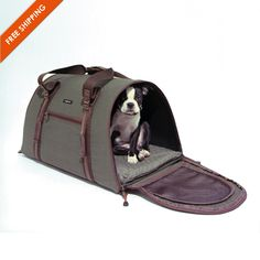 Cotton Ripstop Dog Carrier