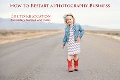 How to Restart a Photography Business Due to Relocation (For Military Families and More)