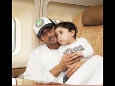 Prince Fazza (Hamdan bin Mohammed bin Rashid al Maktoum) Loves Children! - YouTube