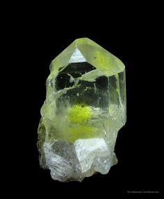 "bijoux-et-mineraux: "" Anglesite - Touissit Mine, Oujda, Morocco """