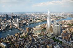 RIBA stirling prize shortlist 2014 includes london bridge tower (the shard) by renzo piano building workshop