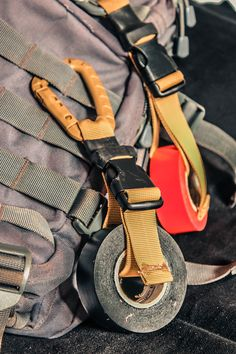 """The """"010UsefullGear D-Ring Adjustable Strap"""" is a smart method of carrying stuff, with a high strenght D-Ring you can attach it to every kind of MOLLE harness , belts, backpacks, chest rigs and everything has a hook. Hand made with durable materials, it comes in different standard colors and could be made on demand with high visibility colors It's perfect for carrying tapes, ropes, and everything has a hole that could fit the 2,5mm Buckle. Tactical Equipment, Tactical Bag, Urban Carry, Tactical Response, Smart Method, Cool Belt Buckles, Chest Rig, Tac Gear, Tactical Clothing"""