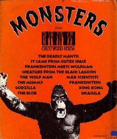 "Crestwood Monsters book series aka ""The Orange Monster Books"""