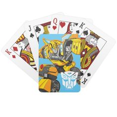 Transformers | Bumblebee Pointing Pose Playing Cards #transformers #robots #in #disguise #kids #PlayingCards #children #gifts #playingcards #puzzles #sports #basketball #football #cards #football #pingpong #childrensbirthdaygifts Transformers Bumblebee, Transformers Robots, Babysitting Activities, Unique Birthday Gifts, Art Poses, Indoor Activities, Cartoon Kids, Deck Of Cards, Kids Cards