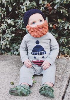 Hey, I found this really awesome Etsy listing at https://www.etsy.com/listing/214369589/crocheted-lumberjack-beard-baby-infant