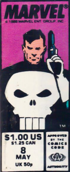 Marvel corner box art - Punisher