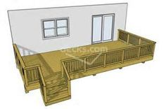 free easy deck plans - Yahoo Image Search Results