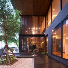A Private Home Located in Thailand was Designed by seARCHOFFICE
