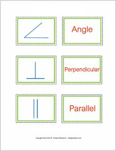 Free Common Geometry Symbols Memory Game from A Diligent Heart