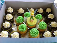 Tinkerbell Cupcakes!