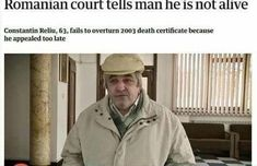 33 Lawyerly Memes That Are Guilty Of Hilarity - Funny Duck - Funny Duck meme - - meme about a Romanian court telling a man he is not alive The post 33 Lawyerly Memes That Are Guilty Of Hilarity appeared first on Gag Dad. Funny Meme Pictures, Crazy Funny Memes, Wtf Funny, Funny Posts, Funniest Memes, Funny Tweets, Overly Attached Girlfriend, Funny Headlines, Legal Humor