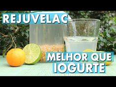 Mais saudável que iogurte | Rejuvelac de trigo: probiótico fácil, rico em lactobacilos - YouTube