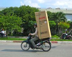 Fridge delivery in Vietnam