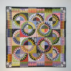 NY Beauty by Nancy Arseneault.  Made from Karen K. Stone's pattern Lady Liberty Goes to Hawaii