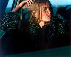 """""""FlashBackFriday"""" Vogue Nippon November 2002 """"The Lost Highway"""" photography Carter Smith model Natalia Vodianova via nataliavodianova Natalia Vodianova, Carter Smith, Mario Testino, Lost Highway, Magazine Mode, Valley Girls, Vogue Japan, Russian Models, Editorial Fashion"""